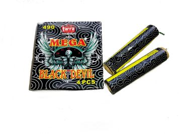 PETARDY  MEGA BLACK DEVIL  4ks  160/4 - 490