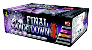 BATERIE VÝMETNIC FINAL COUNTDOWN 1 - 150 RAN 2/1 - BAT15020B