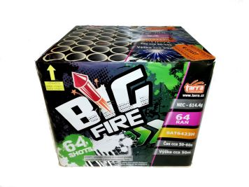 BATERIE VÝMETNIC BIG FIRE 64RAN  6/1 - BAT6423H